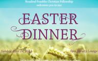 East Dinner Poster Design