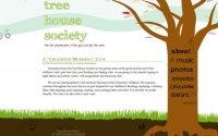 Tree House Society Website Design