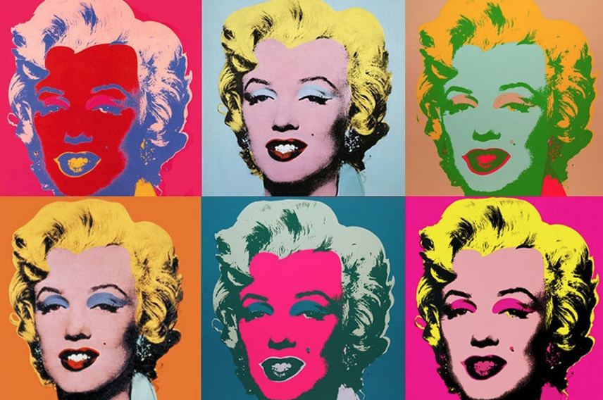 How To Make An Andy Warhol Portrait Painting Henry Del Rosario S Art Portfolio And Medical Blog
